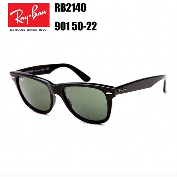 6208092b162 RAY BAN WAYFARERS RB2140 901 50-22 SUNGLASSES. M 5a7a103061ca108ee281554d